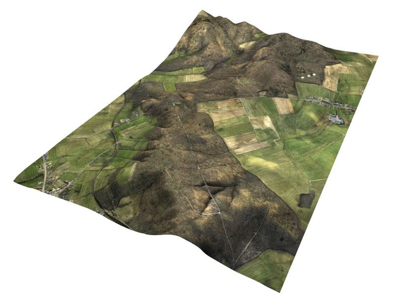 Bild- und Videoflüge 3D-Gelände-Modell