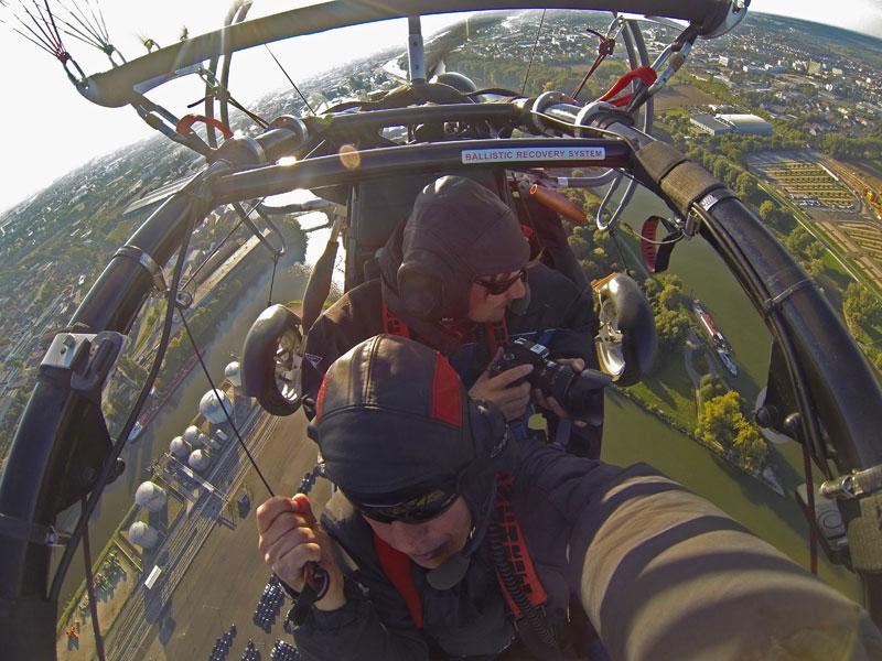 Bild- und Videoflüge Trike