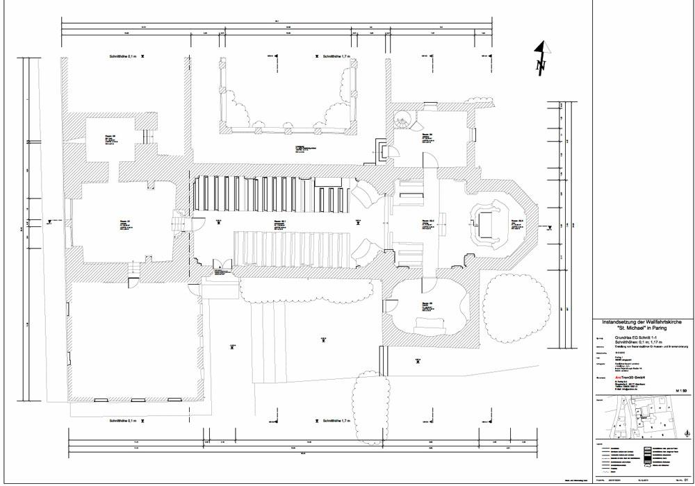 Wallfahrtskirche St. Michael, 3D-Aufmaß