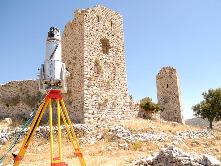 3D-Vermessung Burgruinen und Gebäuderesten