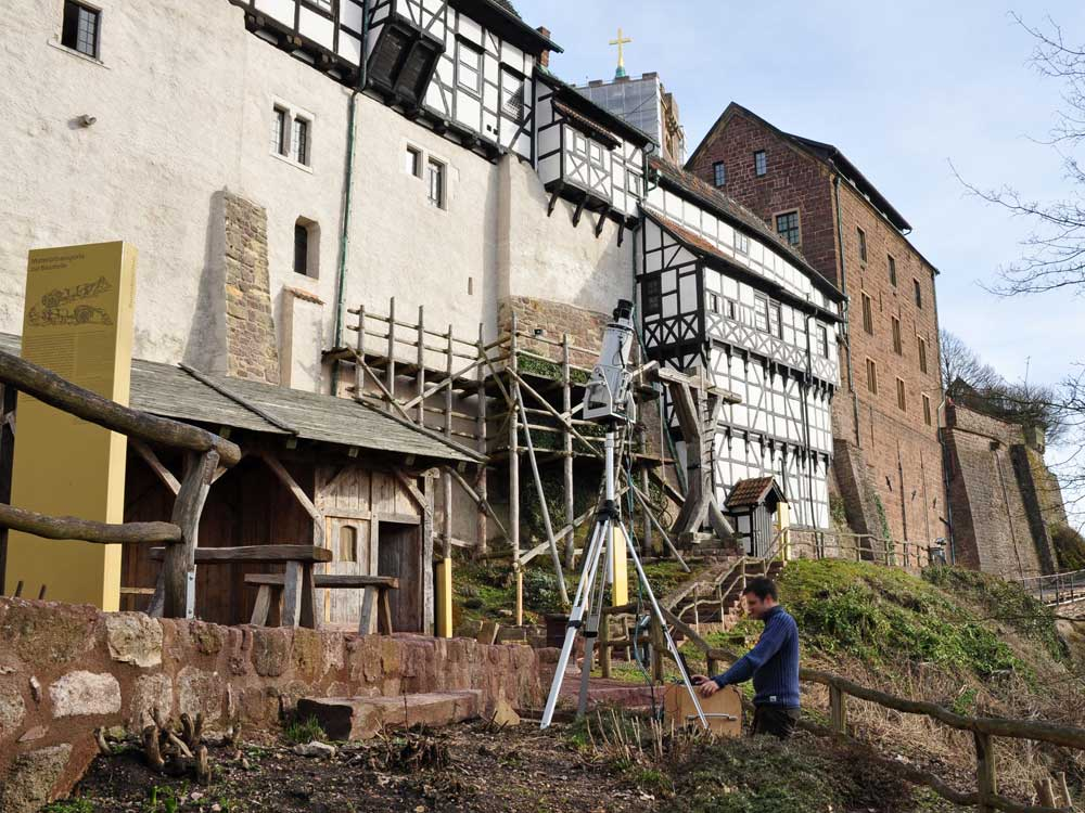 3D-Laserscanning historische Gebäude