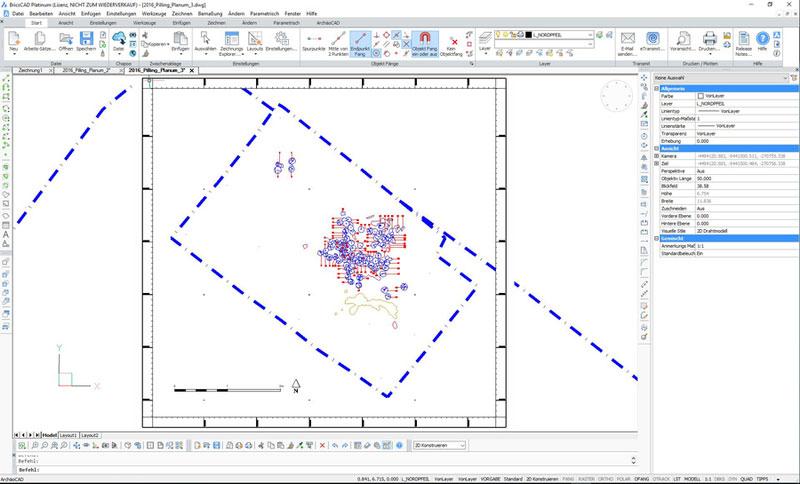 ArchäoCAD Rectify CAD-Umzeichnung der Bildinformation