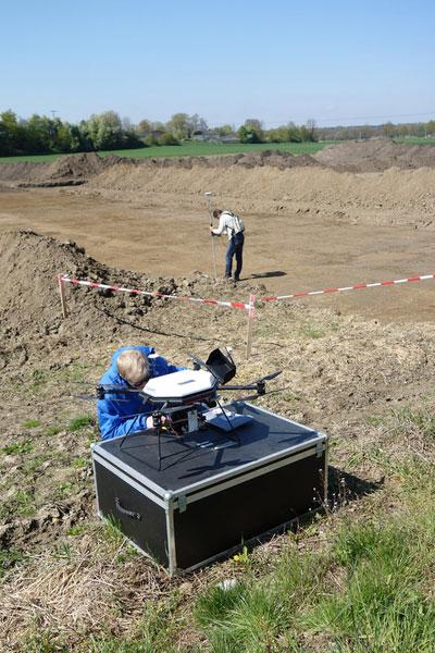 Archaeologie UAV-Befliegung