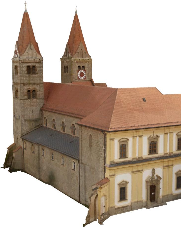 Reality Capture Klosterkirche Reichenbach
