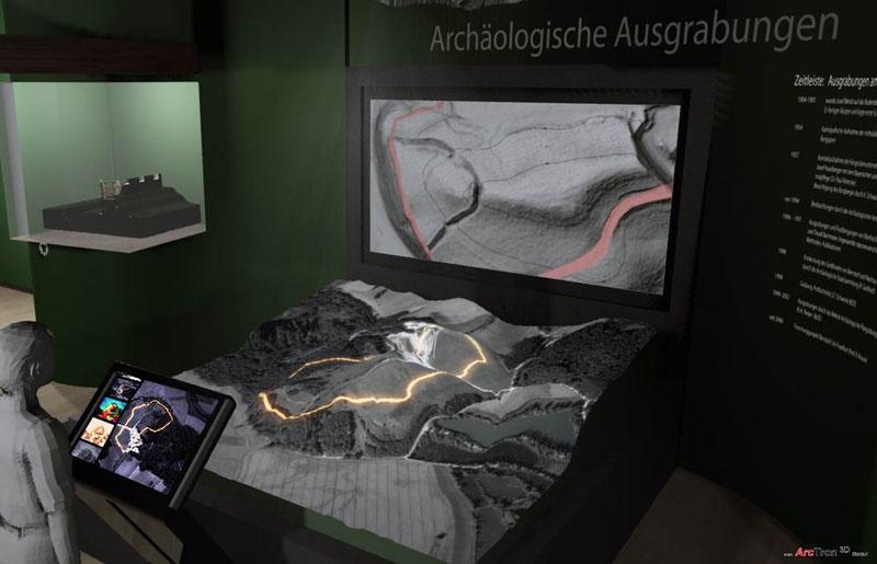 3D-Projektion Gelände 2
