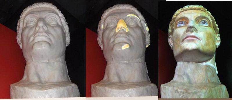 3D-Projektion Konstantin 2