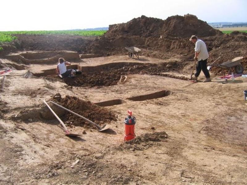 Archäologische Ausgrabung 1