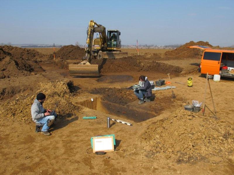 Archäologische Ausgrabung 2