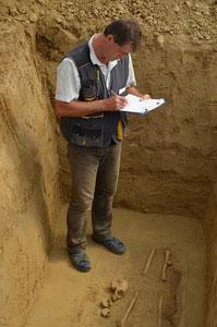 Archäologische Dokumentation Grabbeschreibung