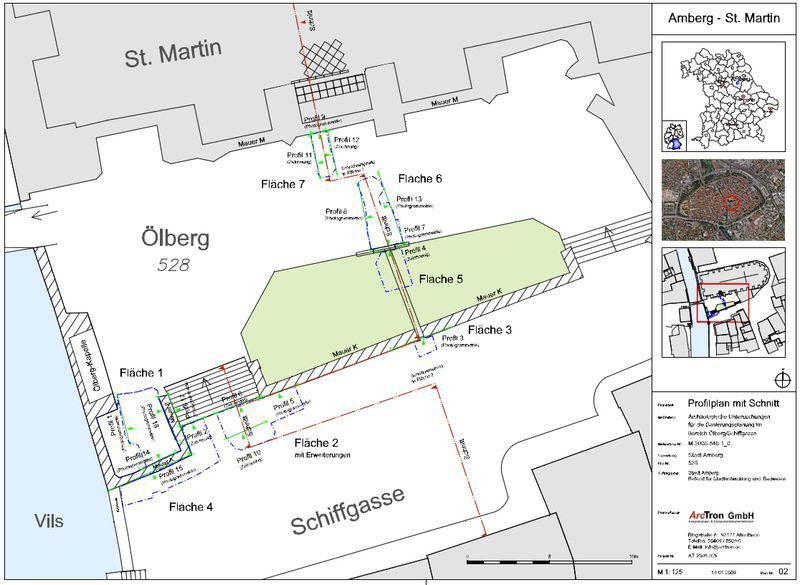 Archäologische Dokumentation Plan 1
