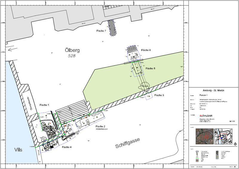 Archäologische Dokumentation Plan 2