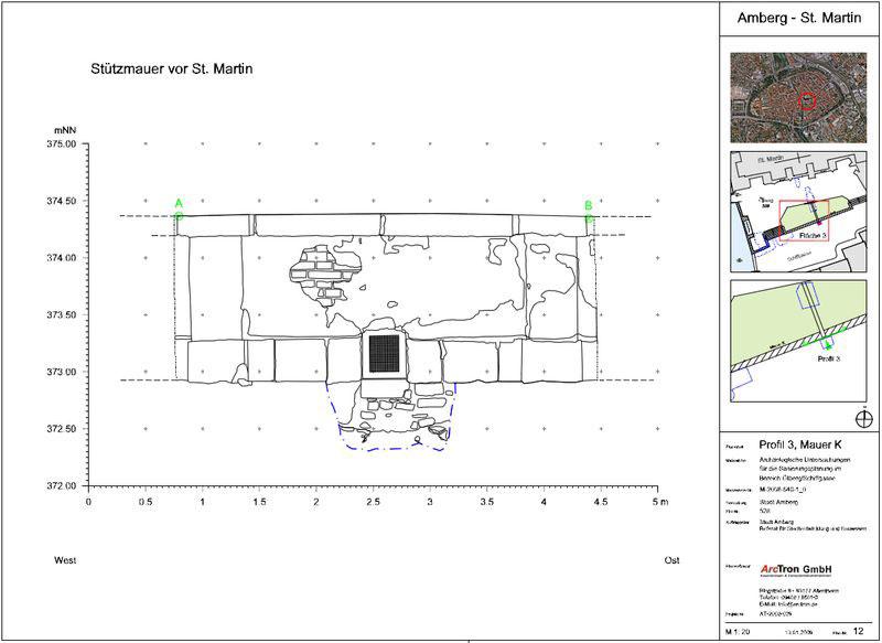 Archäologische Dokumentation Plan 4