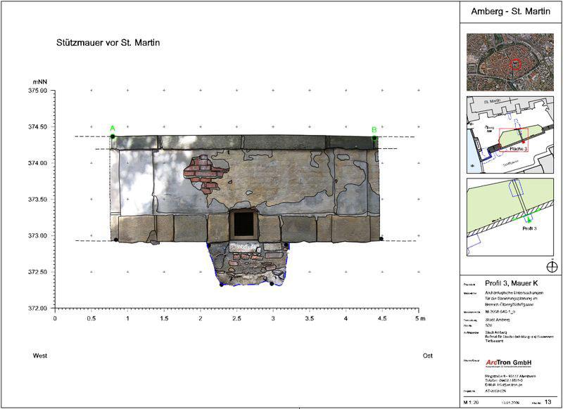 Archäologische Dokumentation Plan 5