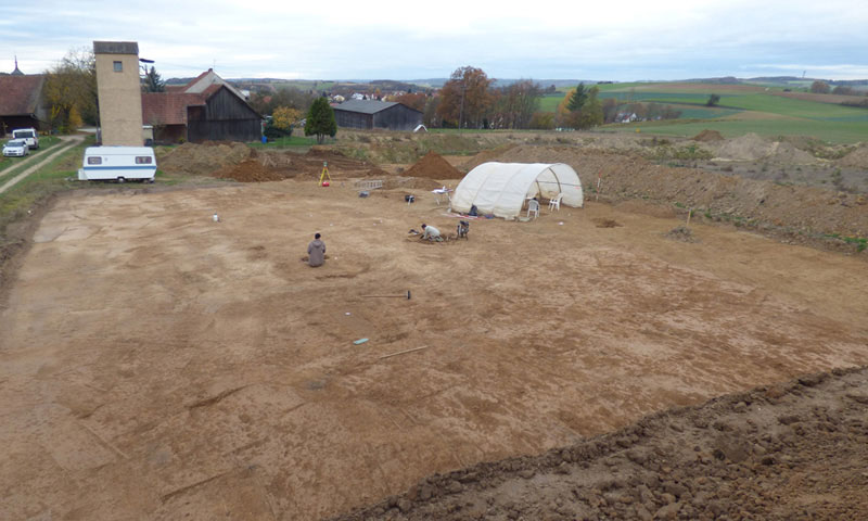 Archaeologische Siedlungsgrabung