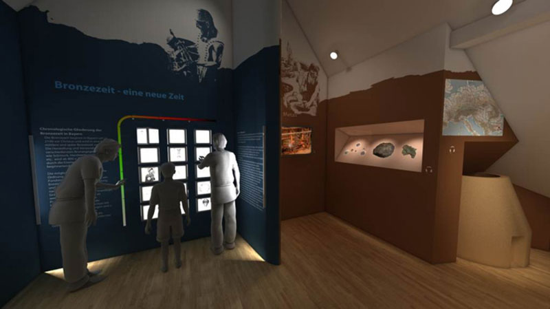 Ausstellungskonzeption Bayern Museum 1