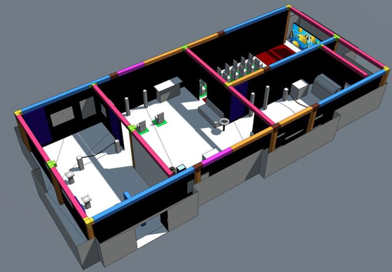 Ausstellungskonzeption DEZ Planung
