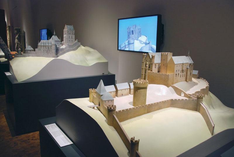 Burgen Marburg und Karlstein 3D-Druck