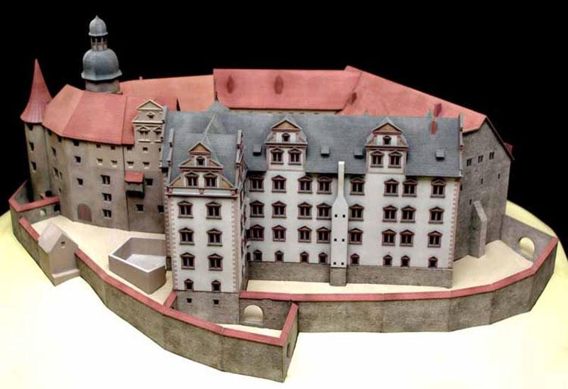 Heldburg Modell 3D-Druck