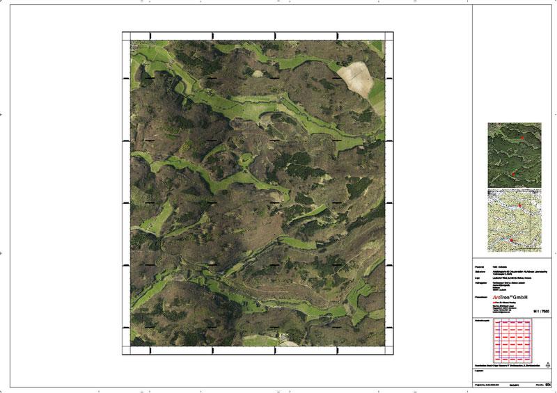Luftbilder ALS RGB Laubacher Wald