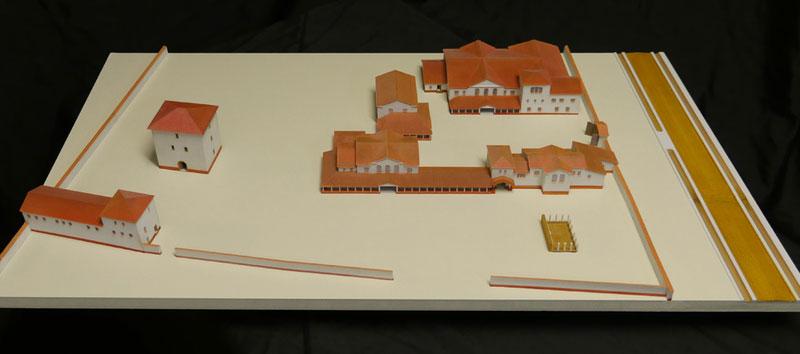 Museumsmodell Villa von Frauenzimmern Güglingen 3D-Druck