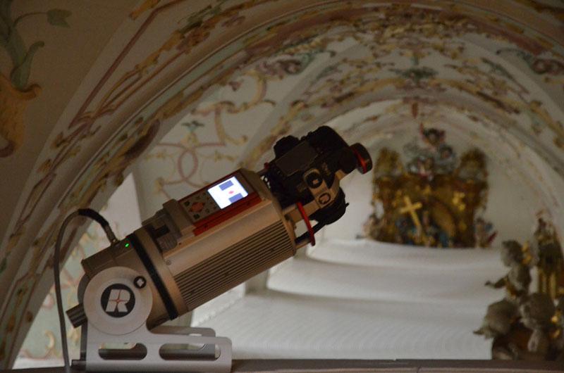 3D-Laserscanning Klosterkirche