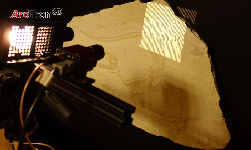 3D-Vermessung Streifenlichtscanning für Reproduktion