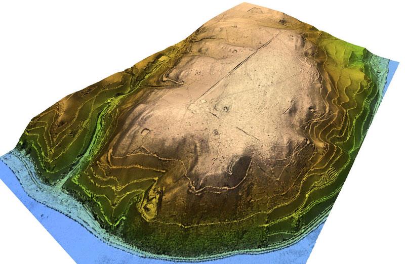 ALS Niederwald DTM 3D-Ansicht