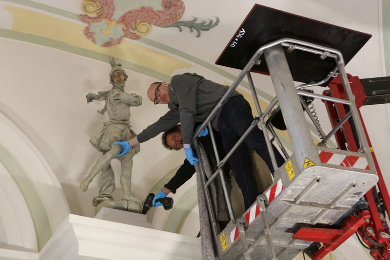 Badisches Landesmuseum Installation Replik