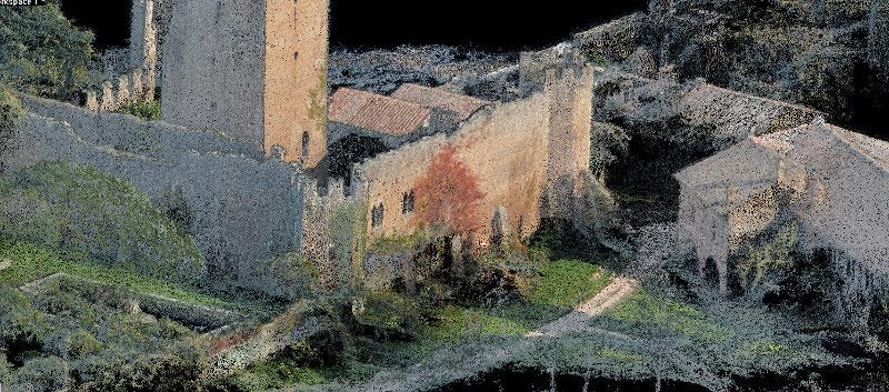 Bestandsaufnahme Ninfa Burg