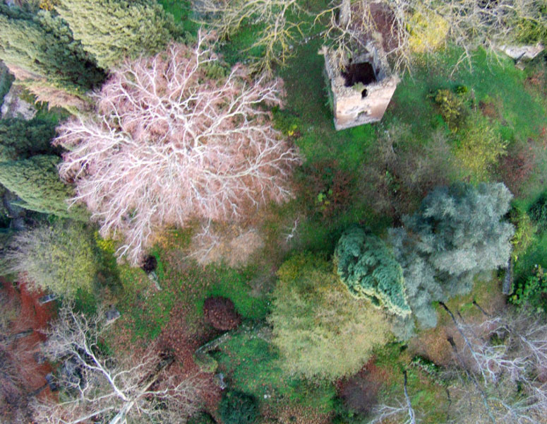 Copter aerial pictures of Ninfa