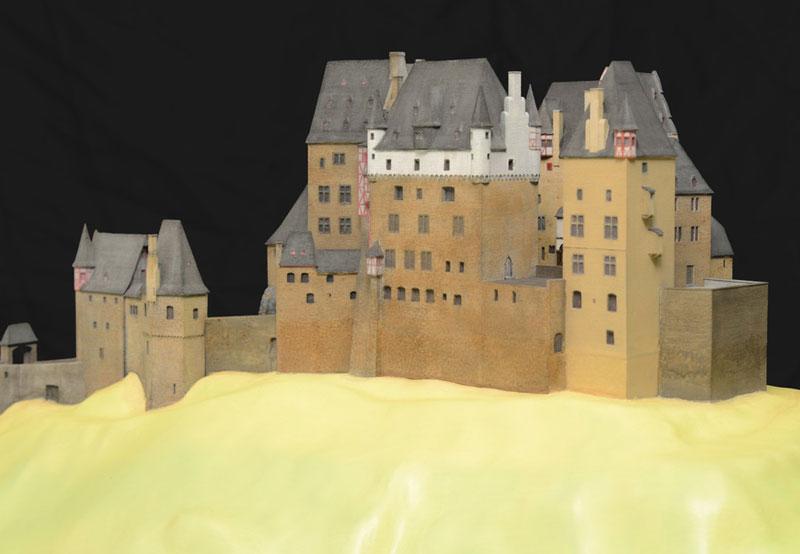 Burg Eltz Architekturmodell