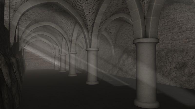 Burg Vianden Keller