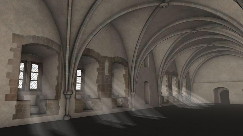 Burg Vianden Rittersaal