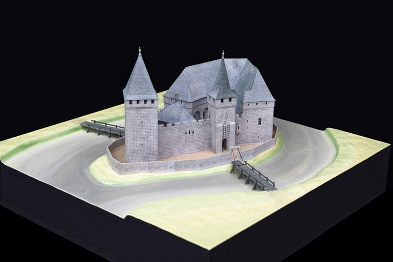 Burgenmodell Lauf Übersicht