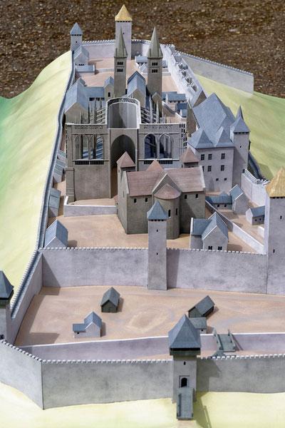 Burgenmodell Prag 4