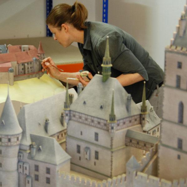Burgenmodelle Nürnberg 3D-Printing