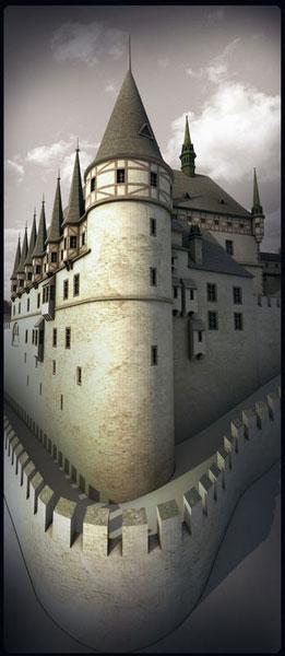 Burgenmodelle Nürnberg Burg Karlstein 2