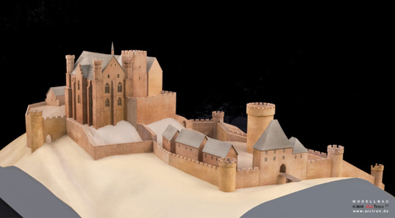 Burgenmodelle Nürnberg Burgenmodell Marburg