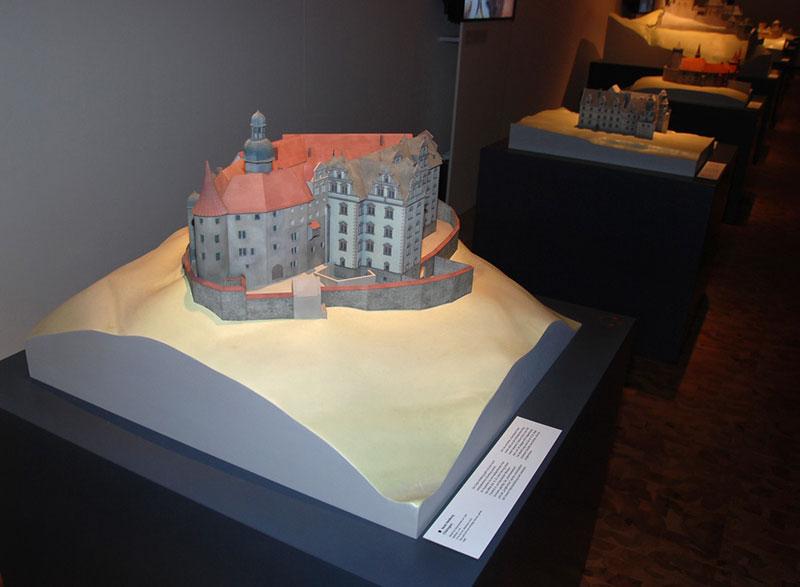 Burgenmodelle Nürnberg Heldburg 3D-Ausstellungsmodell