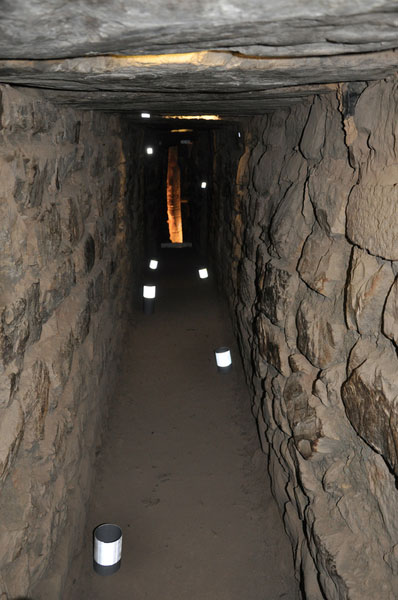 Chavin Laserscanning der Galerie im Tempelinneren