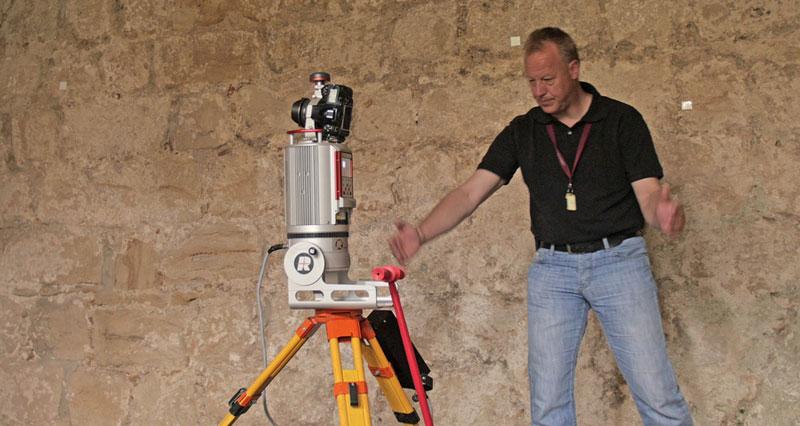 Festung Königstein 3D-Laserscanning der Festungskasematten