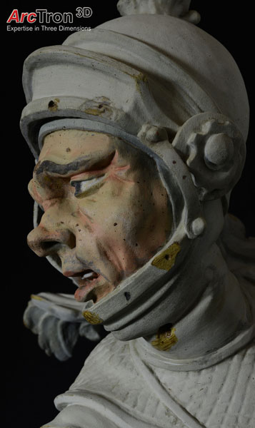 Feuchtmayer-Statue fertige Kopie