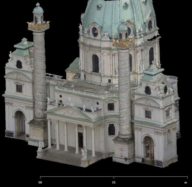 Karkskirche Mesh Facade