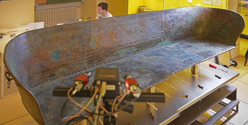 Kline Hochdorf 3D-Objektscanning Museumsobjekt