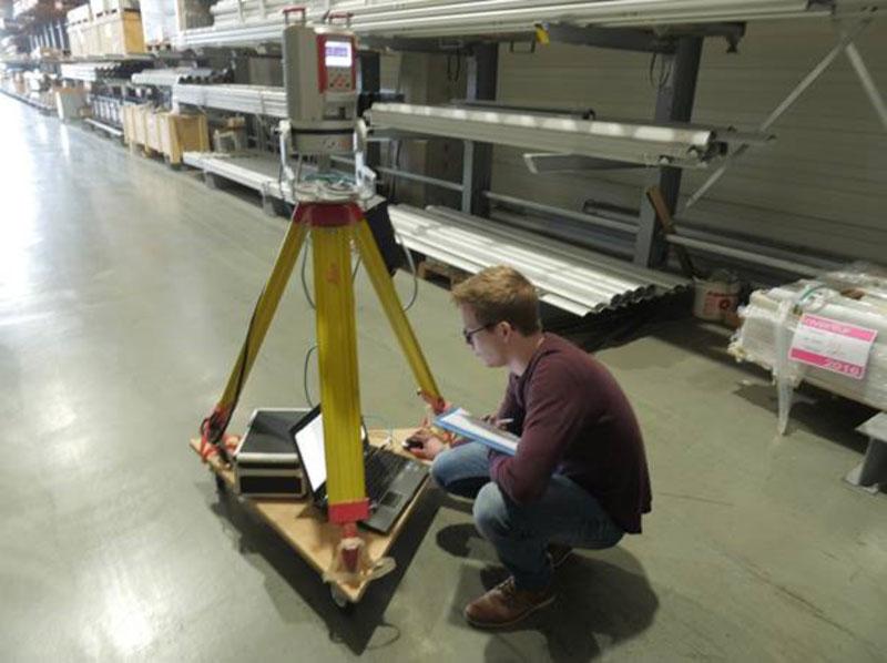 Logistik Management 3D-Laserscanning