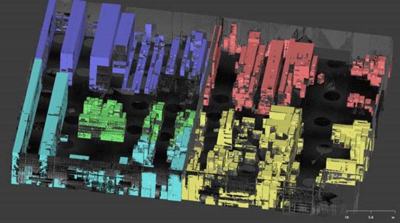 Logistik Management 3D-Modellierung