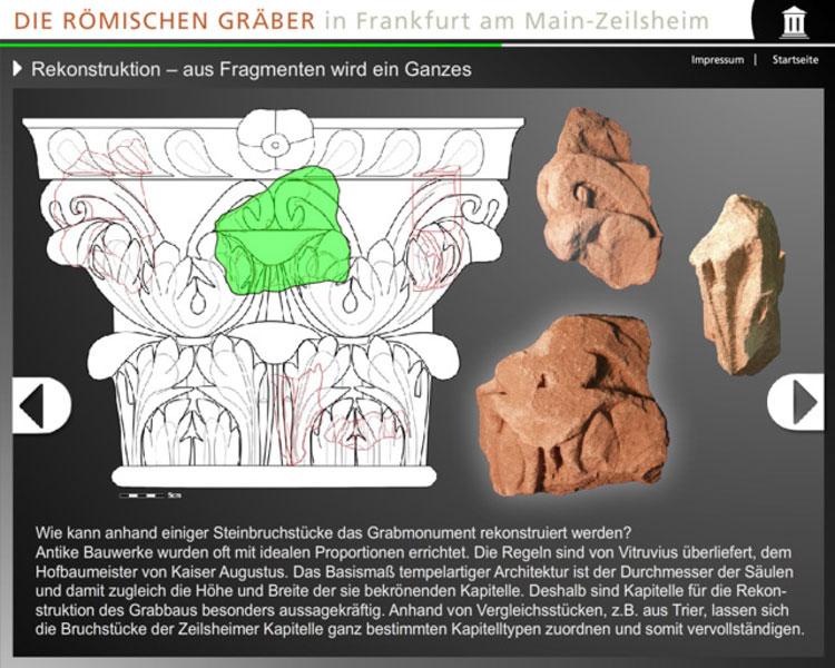Medienstation Archaeologiemuseum Frankfurt Zeilsheim 3