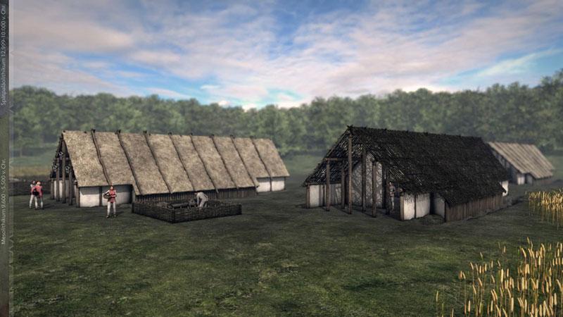Mesolitikum Siedlung 2