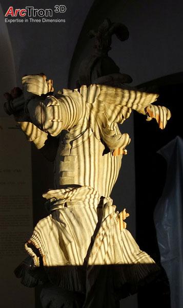 Museumsobjekt 3D-Scanning für Reproduktion