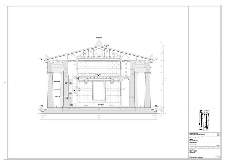 Plan 07 Querschnitt Galerie